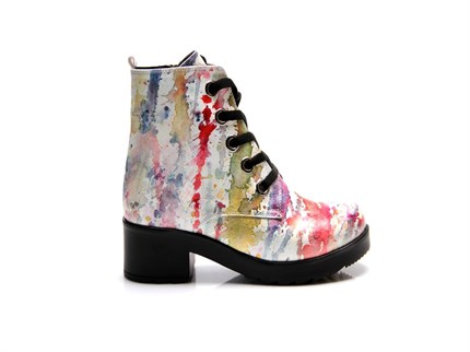 600-MULLY DERBY BOOT                                         HD-PRINTED